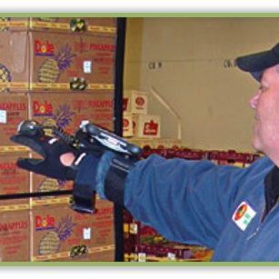 hand-held wristscanners/distribution/traceability/warehouse